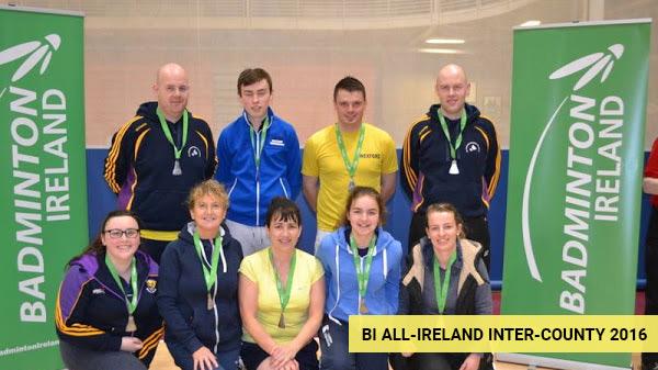 BI All-Ireland Inter-County - Leinster Badminton