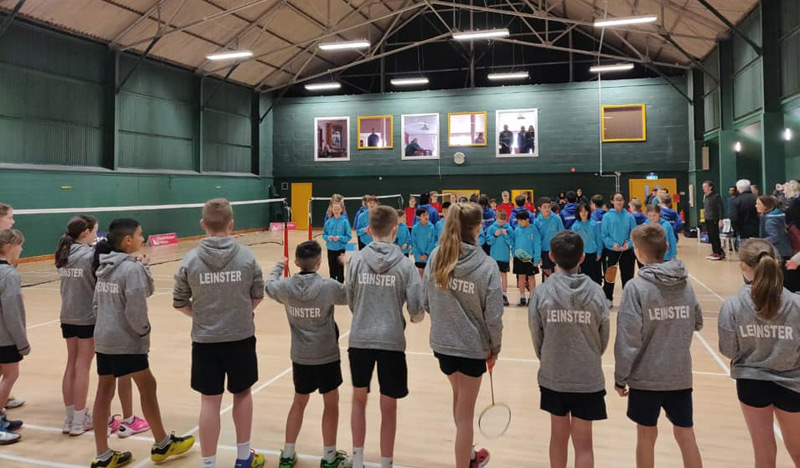 Join Juveniles Badminton Leinster - Ireland