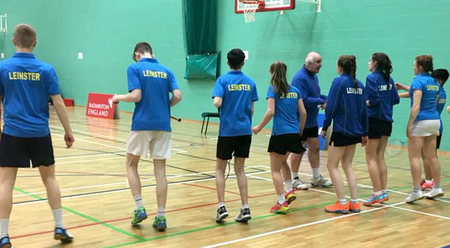 Qualified Badminton Coach - Leinster Badminton