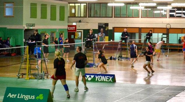 Book a Court - Baldoyle - Leinster Badminton