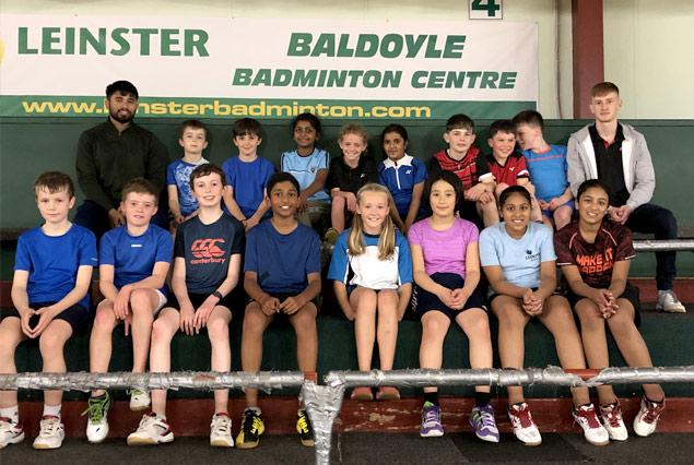 Juveniles Squads - Leinster Badminton Ireland