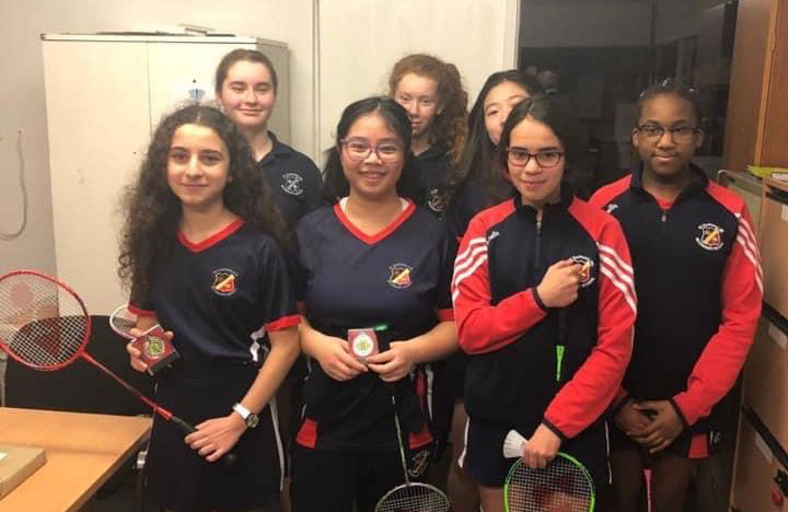 Leinster Badminton Competition - Female Team