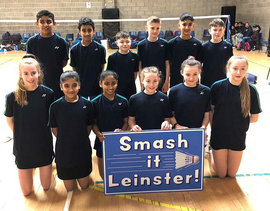Leinster Badminton Competition Reports - U13 Celtic Challenge Team
