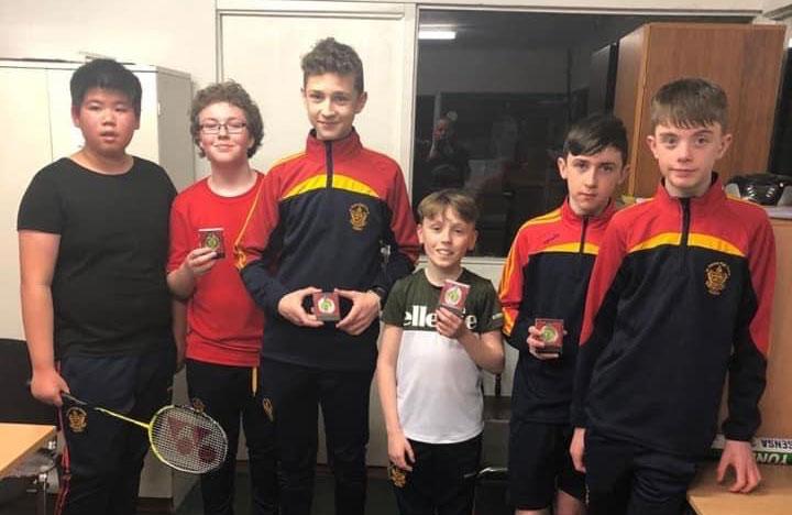 Leinster Badminton Schools - Juvelines