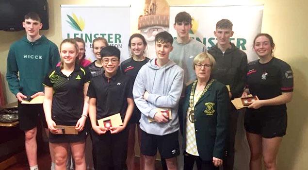 Leinster Badminton Tournaments - Juveniles