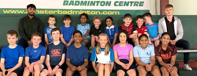 Leinster Badminton Union Juvenile Squads