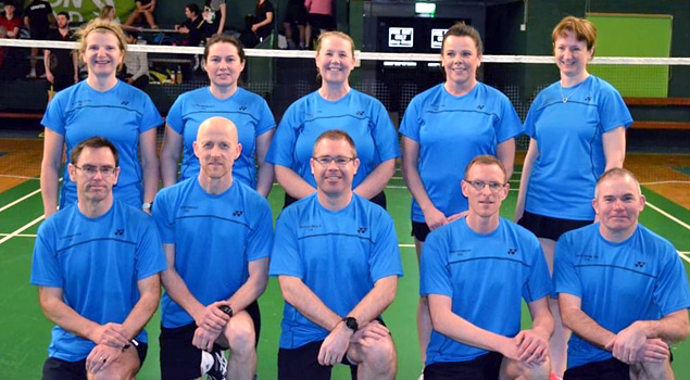 Master Badminton Squads - Leinster Ireland