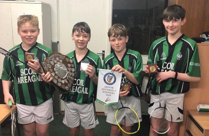 School - Leinster Badminton Champs