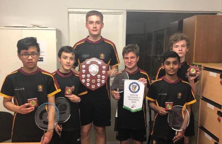 Schools Leinster Badminton - Winners Ireland