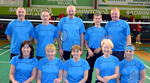 Senior Badminton Squads - Leinster - Ireland